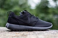 Кроссовки Nike Roshe Run Full Black