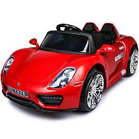 Детский электромобиль Porsche Style FT 1038: 2.4G, EVA-колеса, 7 км/ч - RED PAINT- купить оптом