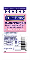 Пластырь медицинский бактерицидный на нетканой основе H Dr.House  4х10см