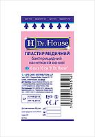 Пластырь медицинский бактерицидный на нетканой основе 6х10см H Dr.House