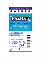 """Пластырь медицинский бактерицидный тканый """"H Dr. House"""" 6смх10см"""