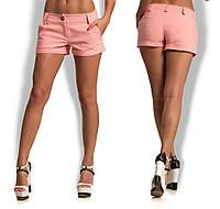 Женские джинсовые шорты в расцветке