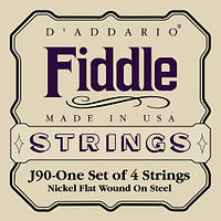 Струны для смычковых D`ADDARIO J90 Fiddle (19546)