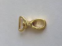 Карабин, ширина - 20 мм, цвет - золото, артикул СК 5038, фото 1