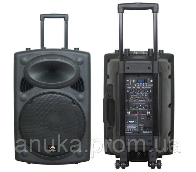 Акустическая система мобильная с радиомикрофнами и медиаплеером HL AUDIO USK12A BT/USB (32889) - Экшен Стайл и Анука™ в Днепре