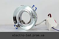 Встраиваемый декоративный светодиодный светильник Feron 8080-2 LED Mr16 LED подсветкой