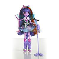 Кукла пони поющая Искорка Твайлайт Радужный рок My Little Pony Equestria Girls Twilight Spark