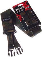 Ремень DIMARZIO DD2200 CLIPLOCK CAMO (19894)