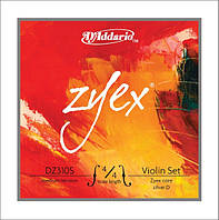 Струны для смычковых D`ADDARIO DZ310S 4/4M ZYEX 4/4M (19521)