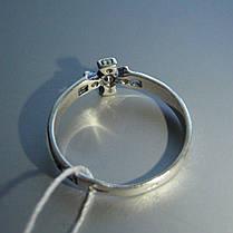 Серебряное кольцо-оберег с крестом, фото 2