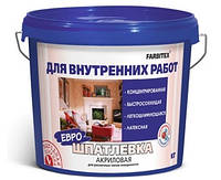 Шпатлевка акриловая для внутренних работ Farbitex, 15кг