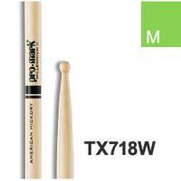PRO-MARK TX718W HICKORY 718 ACID JAZZ Барабанные палочки и щетки PROMARK TX718W HICKORY 718 ACID JAZZ (27853)