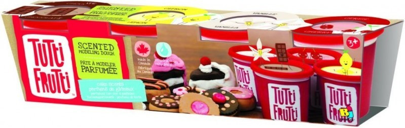 """Набор для лепки Tutti-Frutti """"Ароматные пирожные"""" (BJTT00151)"""