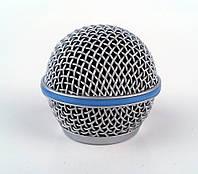 SHURE RK265G - сменная решетка металлическая, матовая для проводных и беспроводных микрофонов серии Shure Beta58 (SH-1319)