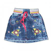 Детская джинсовая юбка, 4012-01