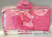 Выписка с роддома 7 предметов розовая