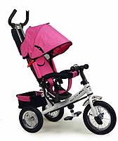Детский трехколесный велосипед  Super Trike VT1436, розовый