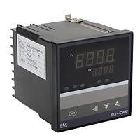 Электронный термостат регулятор температуры 0 - 400С базовое температурное реле 24В REX-C900