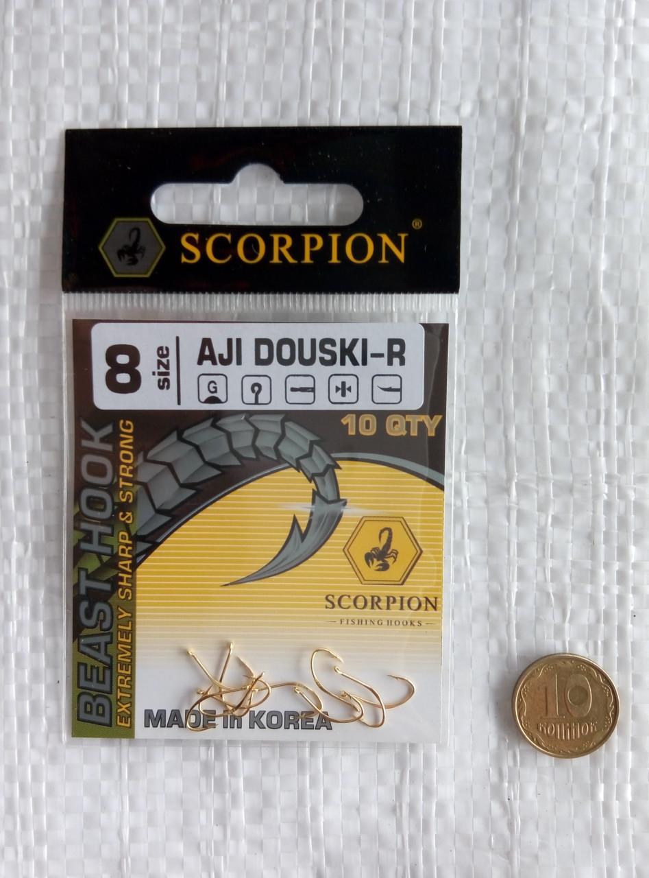 Крючки Scorpion Aji Douski-R №8