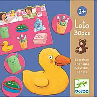 Игра детское лото Djeco «Дом» DJ08121