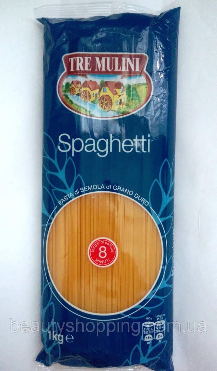 Tre Mulini Spaghetti спагетти 1 kg Италия