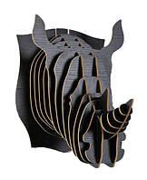 Настенный декор голова носорога 29*45*41  ( разные цвета )