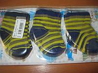 Детские носочки для новорожденных мальчиков х/б Турция