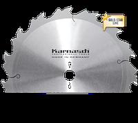 Пильный диск для чернового и глубокого распила дерева ф=250x3,6/2,2x30mm Z=12 FLA, Karnasch (Германия)