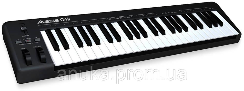 MIDI клавиатура ALESIS Q49 (33456) - Экшен Стайл и Анука™ в Днепре