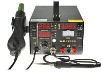 АКЦІЯ! Паяльна станція паяльная станция 5/1 W.E.P 853D 100-480°C/200-480°C 15V/1A 3LED
