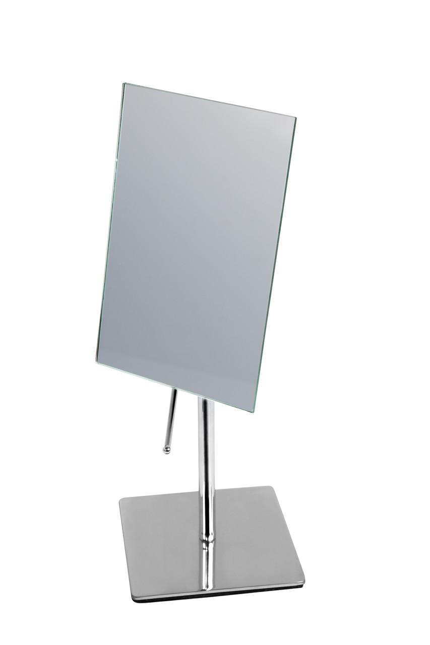 Зеркало косметическое прямоугольное на подставке AWD02090245