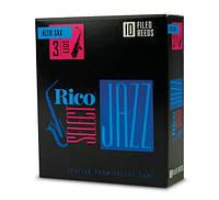 Трости для духовых RICO Rico Select Jazz - Alto Sax Filed 3M - 10 Box (23671)