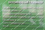 Бензокоса Амур БТ 4200, фото 3