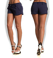 Женские стильные короткие шорты с карманами