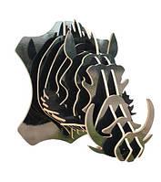 Настенный декор голова кабана 32*35*30  ( разные цвета )