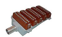 БКТ-50х2 - Бокс кабельный телефонный 50-парный для телефонных распределительных шкафов, фото 1