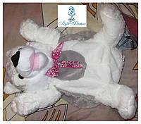 Рюкзак-игрушка волк серый 45см