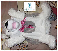 Рюкзак-игрушка волк серый 45см, фото 1