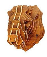 Настенный декор голова льва 31*37,5*33  ( разные цвета )