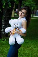 Мишка Монти 55 см, плюшевые медведи.мягкая игрушка Белый