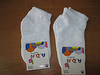 Детские белые летние носочки х/б сеточка 3 года Турция