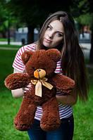 Мишка Монти 55 см, плюшевые медведи.мягкая игрушка Шоколадный