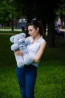 Мишка Монти 55 см, плюшевые медведи.мягкая игрушка Серый