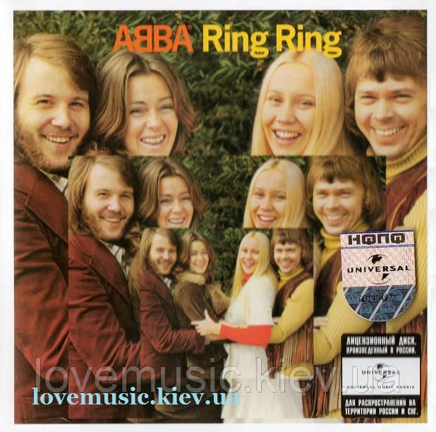 Музичний сд диск ABBA Ring ring (1973) (audio cd)