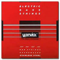 Струны WARWICK 42210 RED LABEL ML4 (40-100) (24107)
