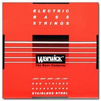 Струны WARWICK 42300 RED LABEL ML5B (40-130) (24108)