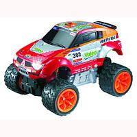 Автомобиль радиоуправляемый MITSUBISHI 2006 DAKAR PAJERO EVOLUTION RALLY (1:28) Auldey