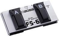 Ножной переключатель двойной BOSS FS-6 (BO-0070)