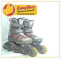 Роликовые коньки ролики HySkate 28-30р. 175-190мм. детские и для взрослых  раздвежные роликовых коньков купить