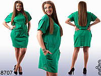Платье из льна 50-54